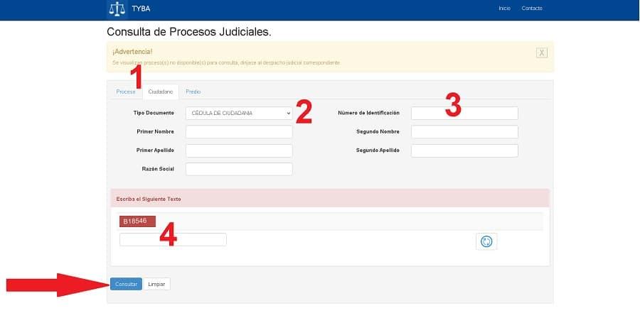 antecedentes rama judicial