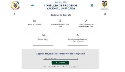 consult de procesos