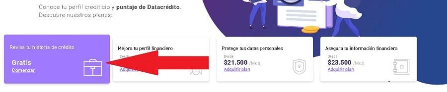 consultar datacredito gratis